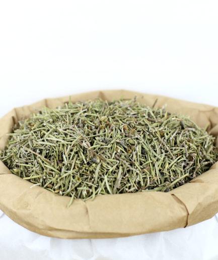 Découvrez nos feuilles entières de Romarin bio séchées de haute qualité. Pour créer votre infusion de Romarin bio fait maison.